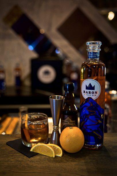 Lemon Rum - baronrum - Baron old fashioned